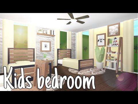 Bloxburg Kids Bedroom 16k Youtube
