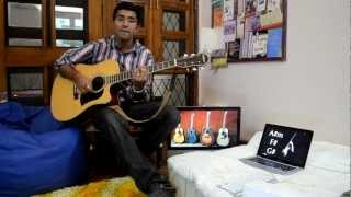 Mere sapnon ki rani on guitar..!(best old hindi song 4 guitar)(Movie-aaradhana)(actor-Rajesh Khanna)