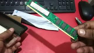 Hynix 2GB DDR2 RAM Unboxing