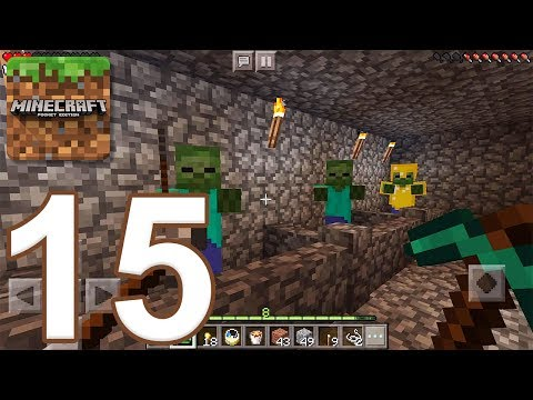 Minecraft: Pocket Edition - Gameplay Walkthrough Part 15 - Survival (iOS, Android)