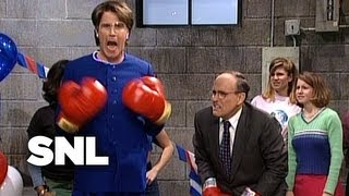 Janet Reno's Dance Party with Rudy Giuliani - SNL