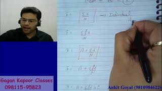 Measures of Central Tendency  Mean , Combined Mean & correct Mean  1st Class
