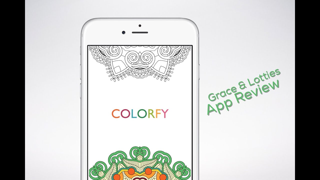 Colorfy Adult Coloring App Review