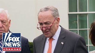 Schumer: Trump walked out of meeting