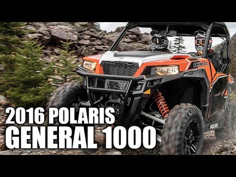 2016 Polaris General 1000 Review
