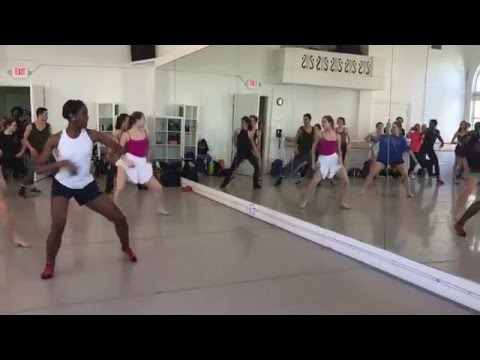 Dirty Dancing Master Class at Alzonzo King LINES Ballet