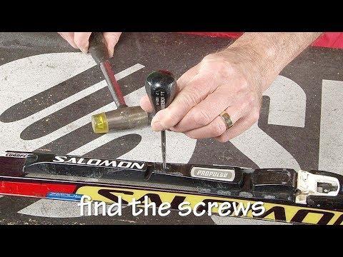 Cross Country Ski Binding Transplant