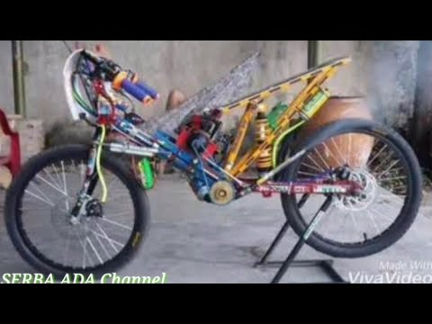 Gambar Modifikasi Sepeda Ontel Drag Kumpulan Sepeda Drag Youtube
