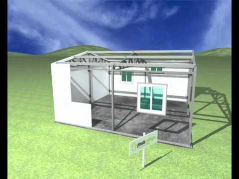 Jesus adiego montaje paneles exteriores youtube - Casas de panel sandwich ...
