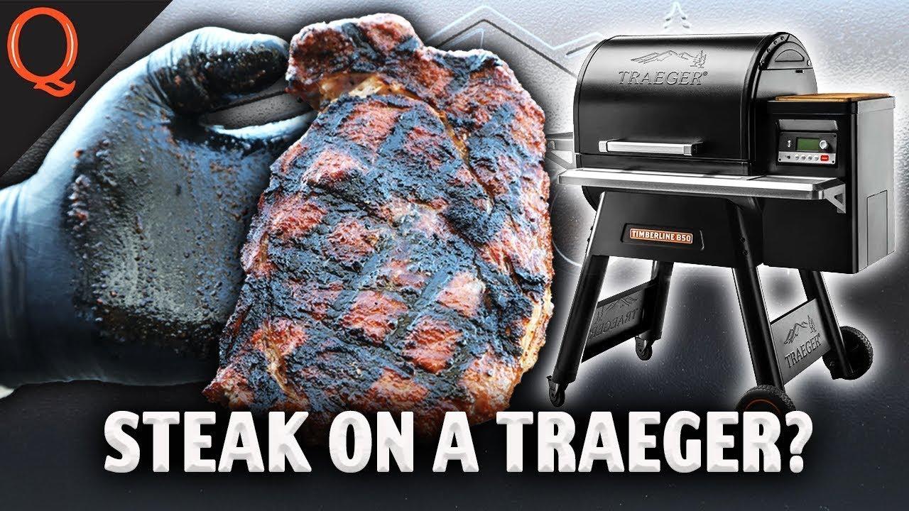Download Can A TRAEGER Really Sear A Ribeye Steak? | Ft. Kosmos Q