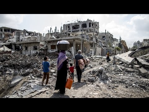 Gaza Cease-Fire Begins as Israeli Troops Withdraw