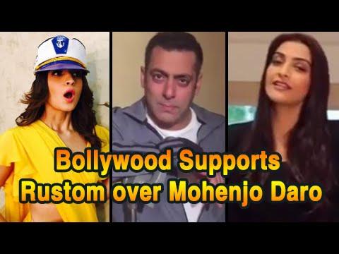 Salman Khan, Sonam Kapoor, Alia Bhatt & More Support RUSTOM | Akshay Kumar