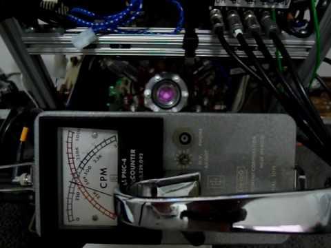 Eberline PNC-4 detecting neutron flux SAM 5186