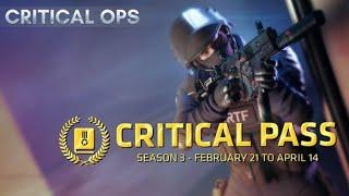 Critical Ops SEASON 3 ACE EMBLEM IS FREE