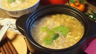 CNY Reunion Dinner Recipe: Fish Maw w/ Seafood Soup 花膠海鲜羹