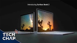 Microsoft have finally unveiled the refreshed SURFACE BOOK 2 - with...