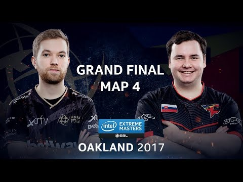 CS:GO - NiP vs. FaZe [Overpass] Map 4 - GRAND FINAL - IEM Oakland 2017
