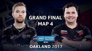 CS:GO - NiP vs. FaZe [Overpass] Map 4 - GRAND FINAL - IEM Oakland 2017