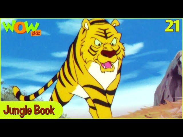 Jungle Book in Hindi | The Waterfront Truce | Ep 21 | Cartoon For Kids | Wow Kidz