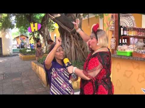 Rossicléa no Centro de Turismo do Ceará