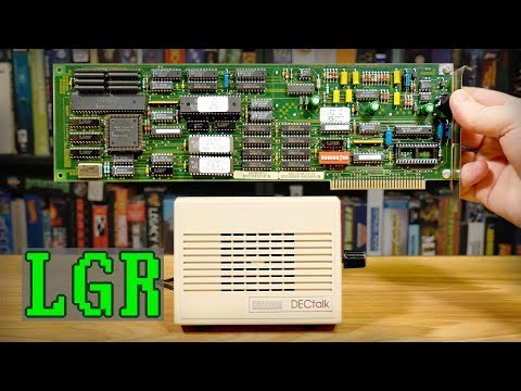 LGR Oddware: $1,200 DECtalk PC Speech Synthesizer