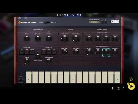 画像2: 04 15 コードの音を決める バレッドプレス KORG Gadget for Nintendo Switch講座 www.youtube.com
