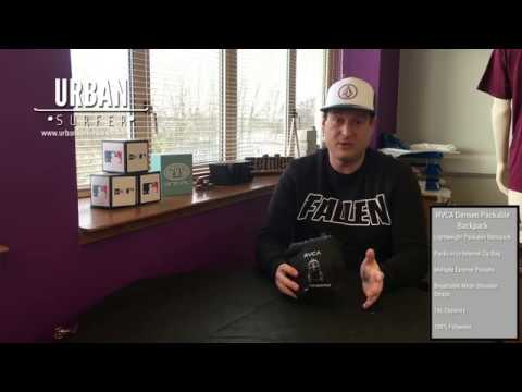 3afd1c8f7552 RVCA DENSEN PACKABLE BACKPACK PRODUCT REVIEW - YouTube