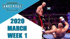 Boxing Knockouts | March 2020 Week 1