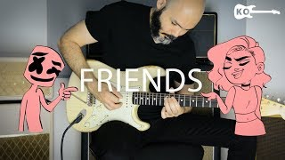 Marshmello & Anne-Marie - Friends - Electric Guitar Cover by Kfir Ochaion