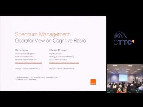 Spectrum Management - Operator View on Cognitive Radio