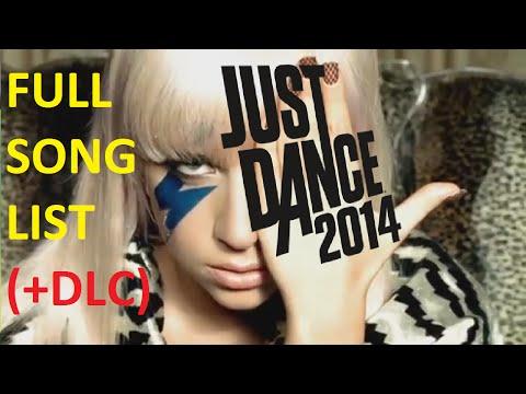 Just Dance 2014  Songlist +DLC