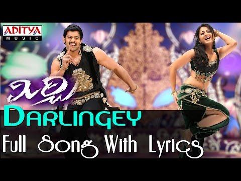 Darlingey Full Song With Lyrics|| Mirchi Movie Songs || Prabhas, Anushka
