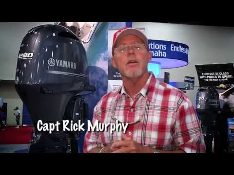 Captain Rick Murphy on the F200, Helm Master and V MAX SHO 150
