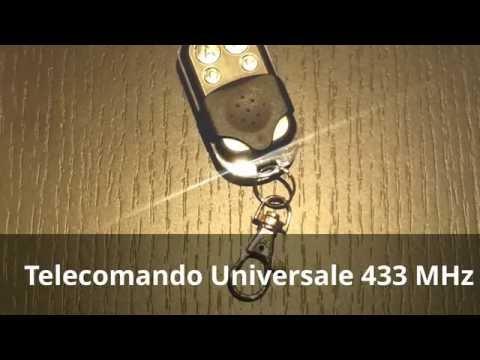 Mando universal para abrir el garaje - mando 433 mhz