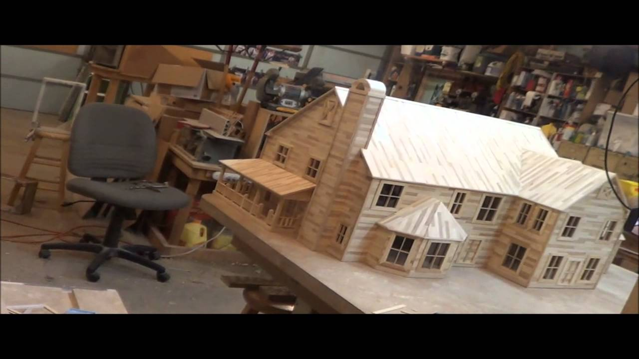 20 popsicle house build last time lapse finishing for What is needed to build a house
