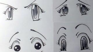 Как нарисовать эмоции у аниме.(Вопросы и ответы в группу: http://vk.com/club61619523 В этом видео рассказываю как нарисовать эмоции у Аниме / манга..., 2013-12-22T20:22:36.000Z)