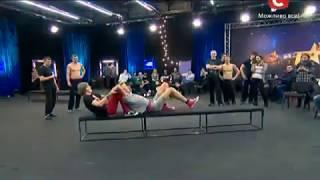  Паша Бумчик  на шоу Украина имеет талант(смотреть всем угар)