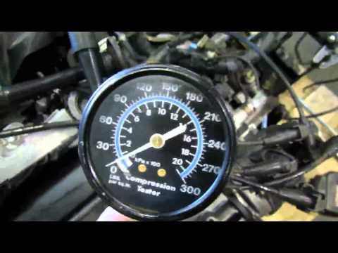 JDM Toyota 4AGE 6 Speed Black TOP Engine Compression Test @ JDM Nagoya Auto Parts