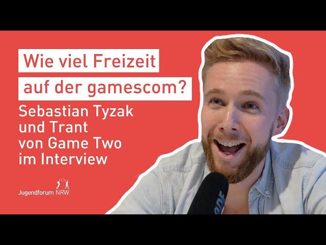 Game Two im Interview   Jugendforum NRW auf der gamescom 2018