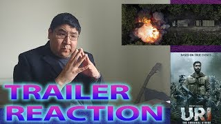 URI Official Teaser Trailer Reaction