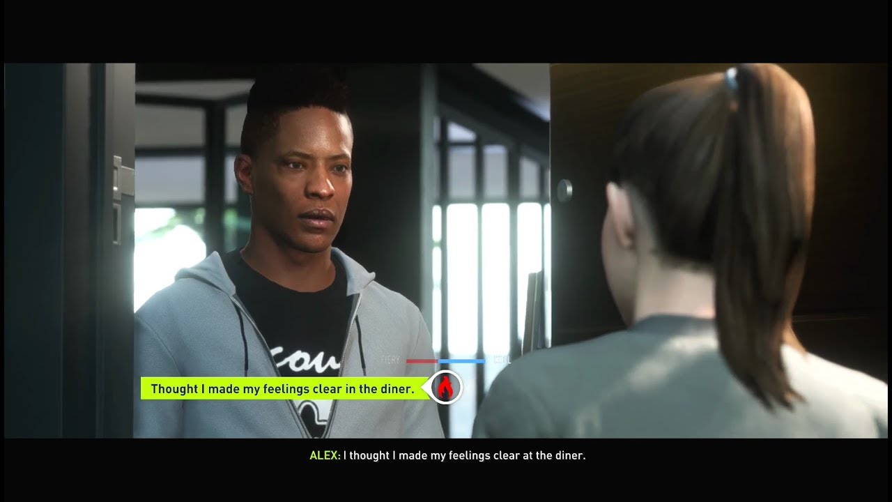 what happens if alex hunter talks rude to his sister? fifa 18 the
