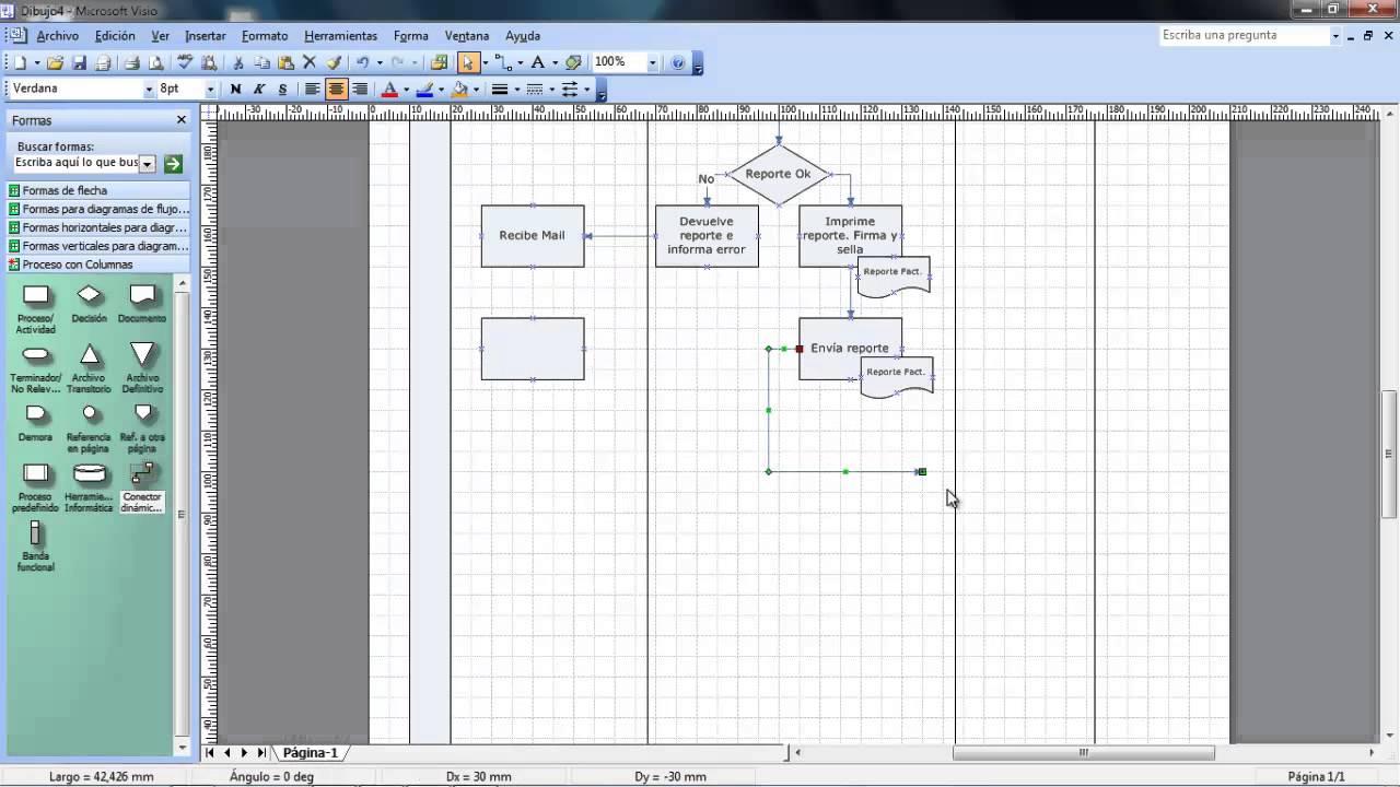 Diagrama de flujo visio youtube ccuart Image collections