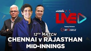 Cricbuzz Live:Match 12, Chennai v Rajasthan, Mid-innings show