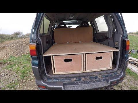 Mitsubishi Delica Camper Van Conversion Part 1