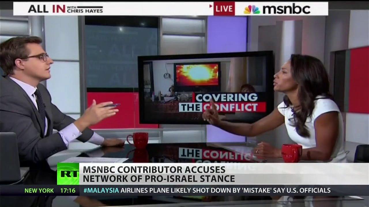 MSNBC, mainstream media under attack for biased Gaza ...