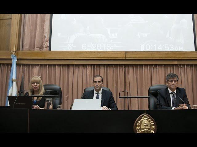Juicio oral por irregularidades en la investigación del atentado a la AMIA