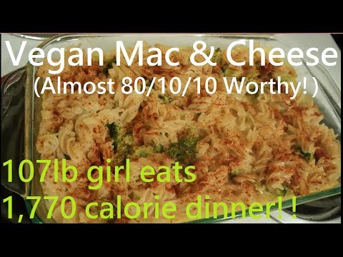 Vegan Mac & Cheese Recipe (Almost 80/10/10 worthy!)