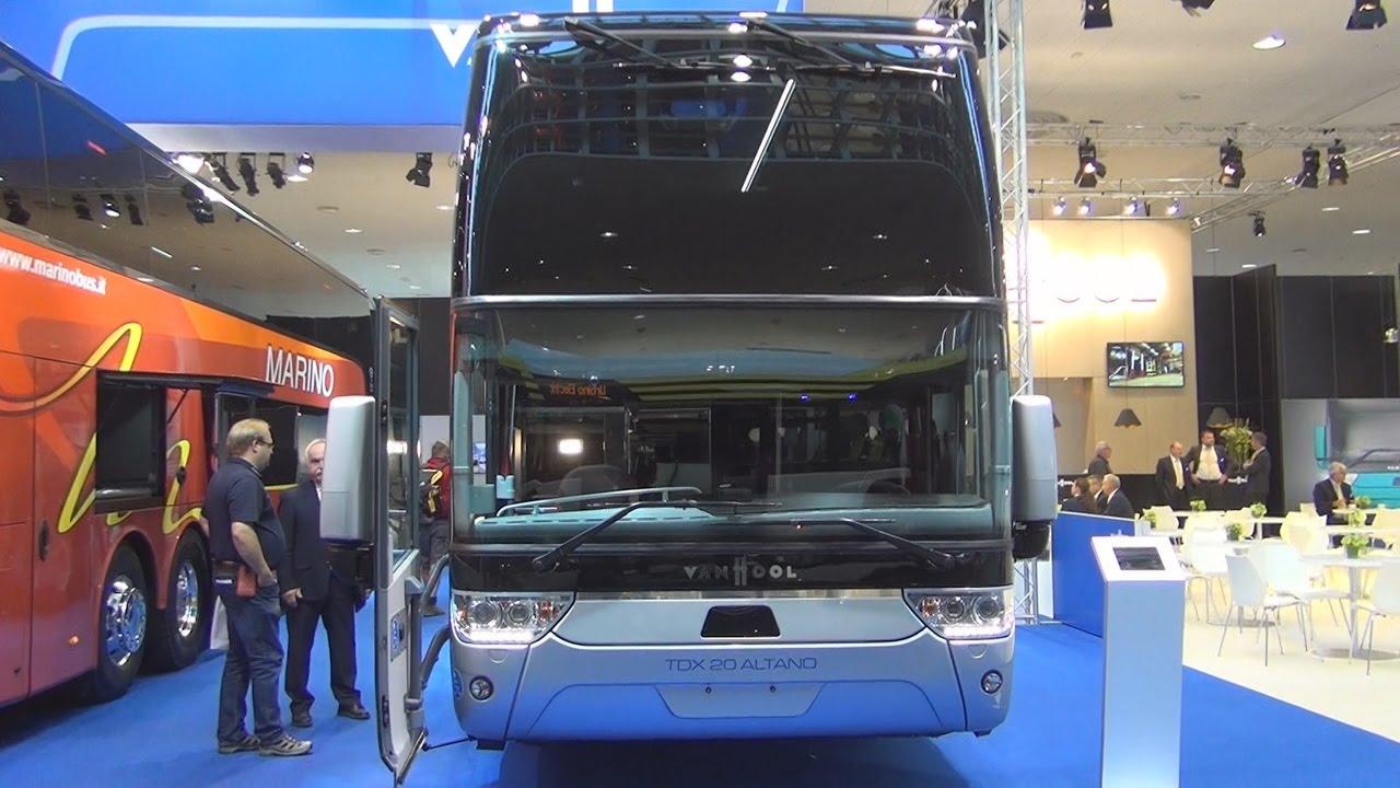 Van Hool TDX20 Altano High-Decker Bus Exterior and Interior in 3D