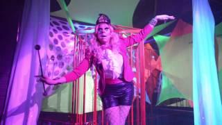 Trixie Mattel performing Kelis at Neverland