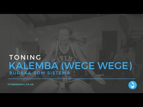 Kalemba (Wege Wege) - BURAKA SOM SISTEMA - Zumba Choreo -Toning - Joanna Weintritt